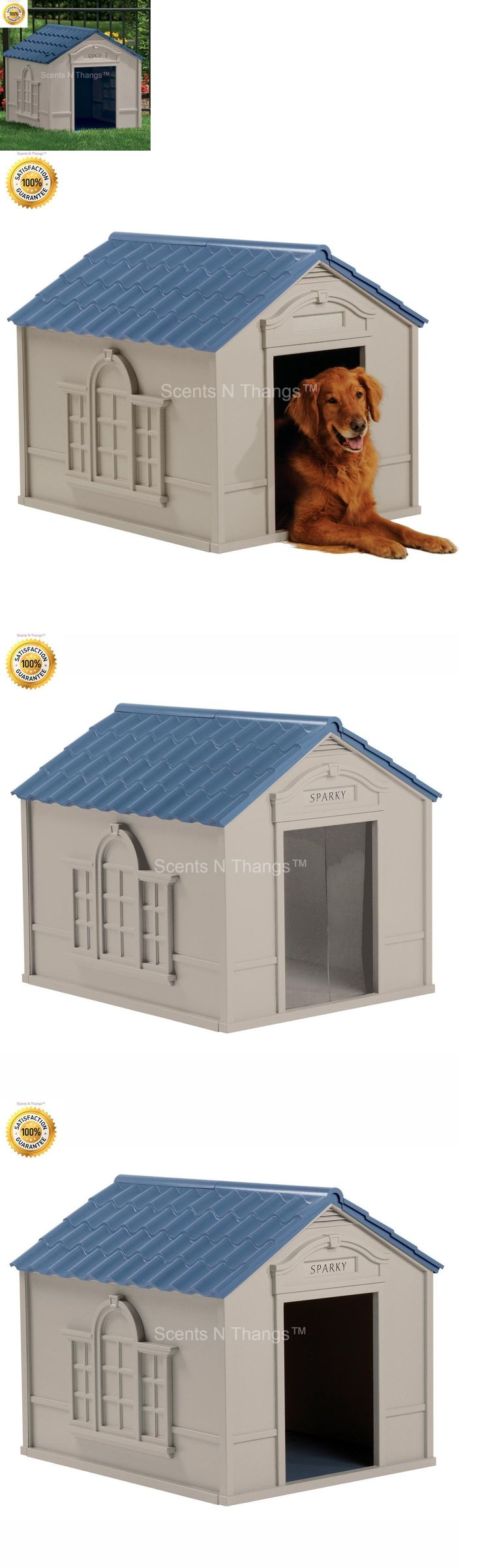 Dog Houses 108884: Xl Dog House Extra Large Dog Houses For Large Dogs Weather Resistant Pet Shelter -> BUY IT NOW ONLY: $84.99 on eBay!