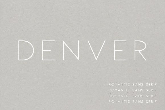 The most romantic sans serif around! Get it by Jen Wagner Co on Creative Market!