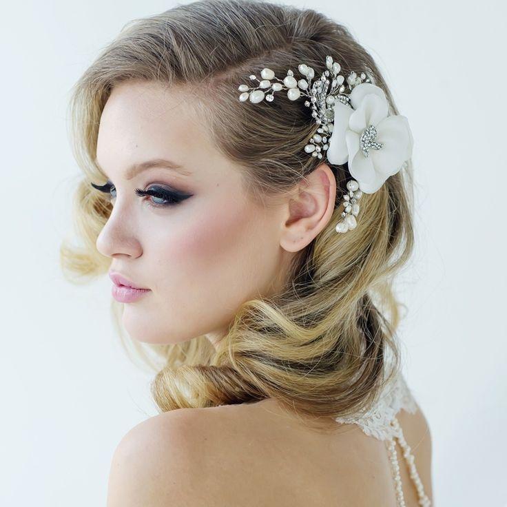 Headpieces For Wedding Pinterest: Best 25+ Flower Headpiece Wedding Ideas On Pinterest