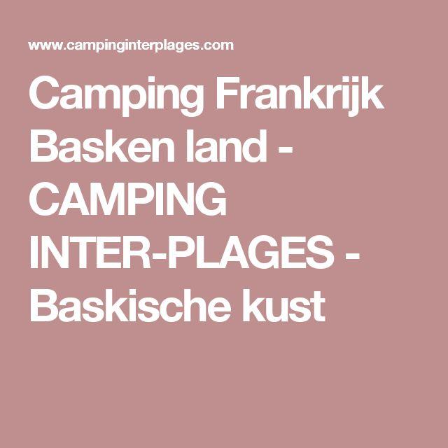 Camping Frankrijk Basken land - CAMPING INTER-PLAGES - Baskische kust