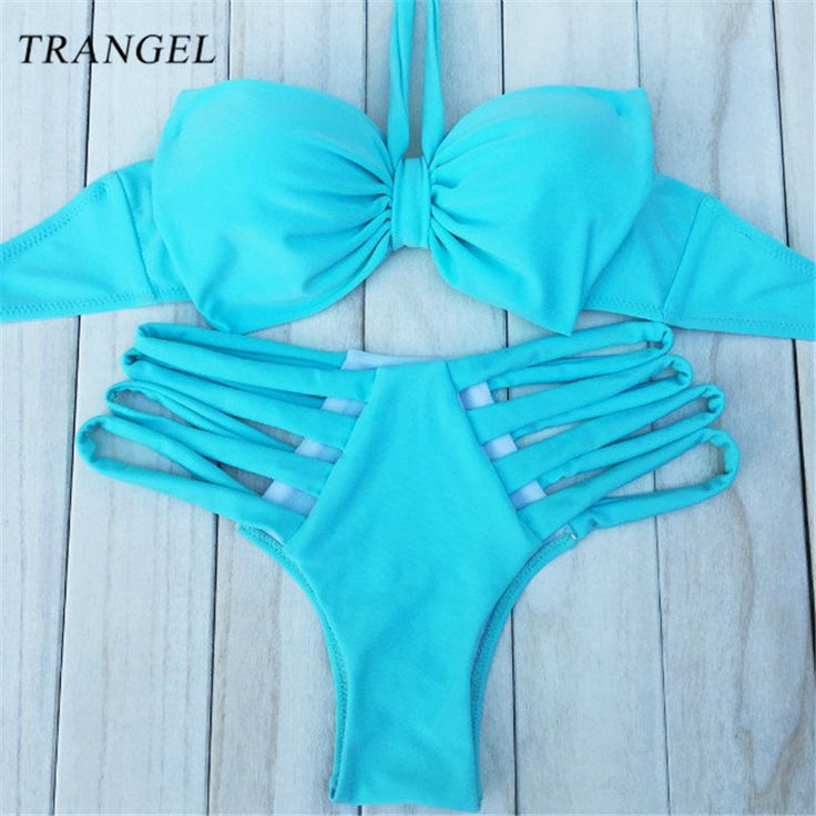 Find More Bikinis Set Information about Sexy Push up Bikini Set Hollow out Beach Swimwear High Waist Swimsuit Women Vest Hang Neck Big Bow Vintage Bathing Suit 12,High Quality suit tailor,China suit cap Suppliers, Cheap suit steamer from Trangel Official Store on Aliexpress.com