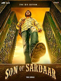 Son Of Sardar 2012 Official Trailer, Release Date, Reviews