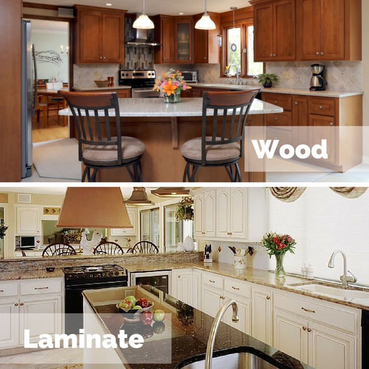 Laminate Or Wood Kitchen Cabinets