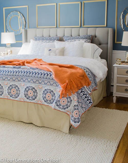 orange master bedroom 25 best ideas about navy orange bedroom on 12746