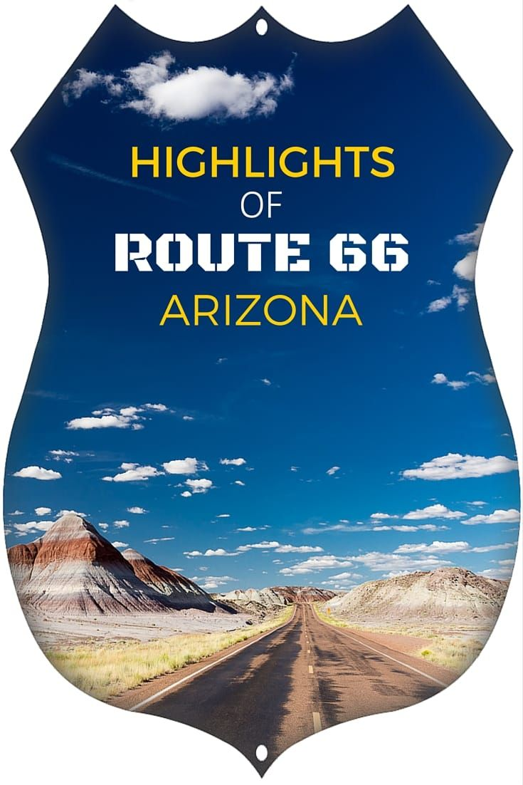 Highlights of Route 66 Arizona In