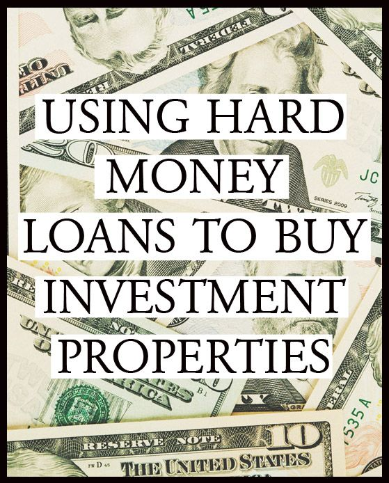 Using hard money loans to buy investment properties for How to get money to buy land