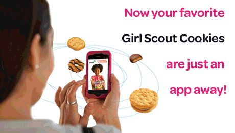 Cookie Locator app to find where cookies are on sale this weekend!