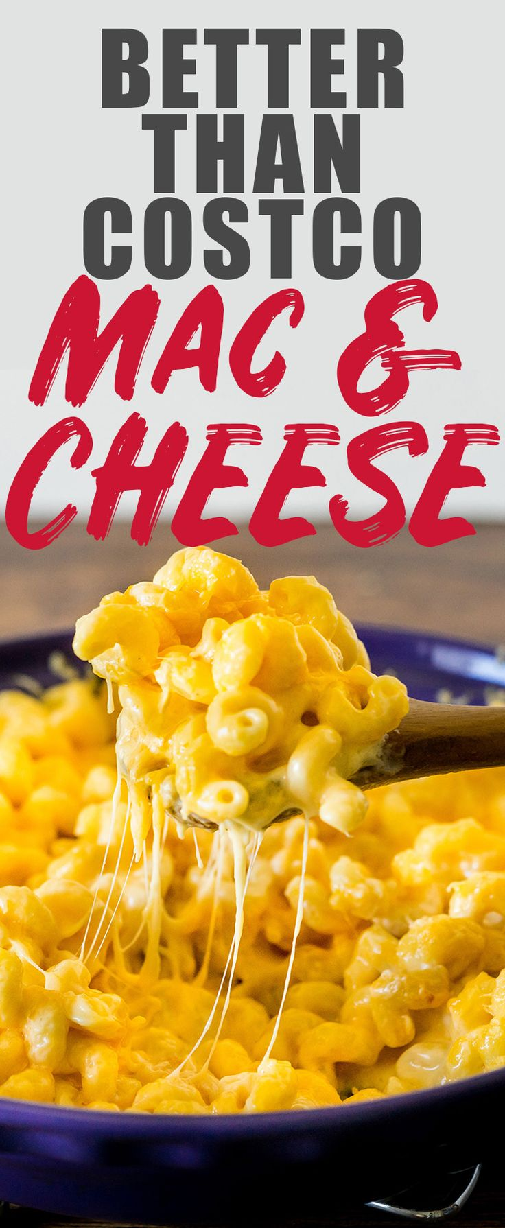 Creamy, cheesy, and super easy, this homemade mac and cheese recipe will make your Costco Mac and Cheese loving heart happy. I have a feeling you won't need your Costco card after trying this. #macandcheese #costco #cheesy #copycat #macaroni  via @heatherlikesfood
