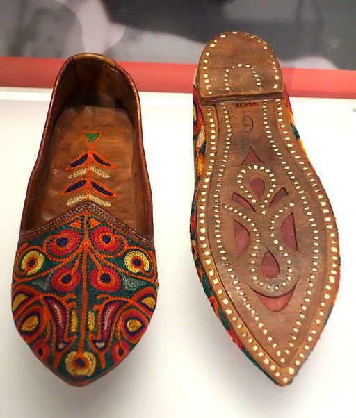 Jutti; traditional ethnic North Indian footwear