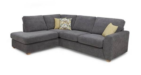 Astaire Right Hand Facing Arm Open End Corner Sofa  Sherbet | DFS #CornerSofa