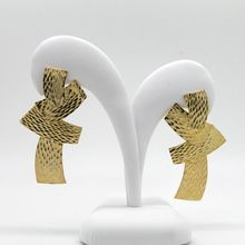 Gold Earrings / fashion jewellery/jewelry