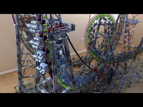 instructions for k nex roller coaster