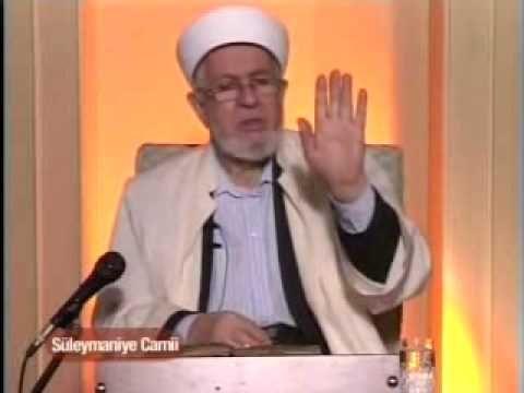 Suleymaniye Hadis ve Kuran Sohbetleri Prof. Dr. Cevat Akşit 12