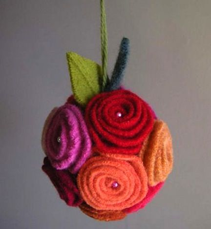 Floral Bud Ornament You'll be surprised at how easy it ...