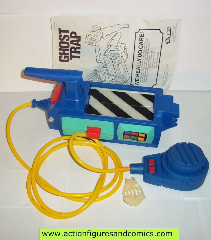 Ghostbusters GHOST TRAP vintage the real kenner 1986 1988 complete