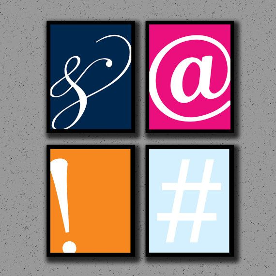 17 best images about ampersand on pinterest typography for Office design hashtags