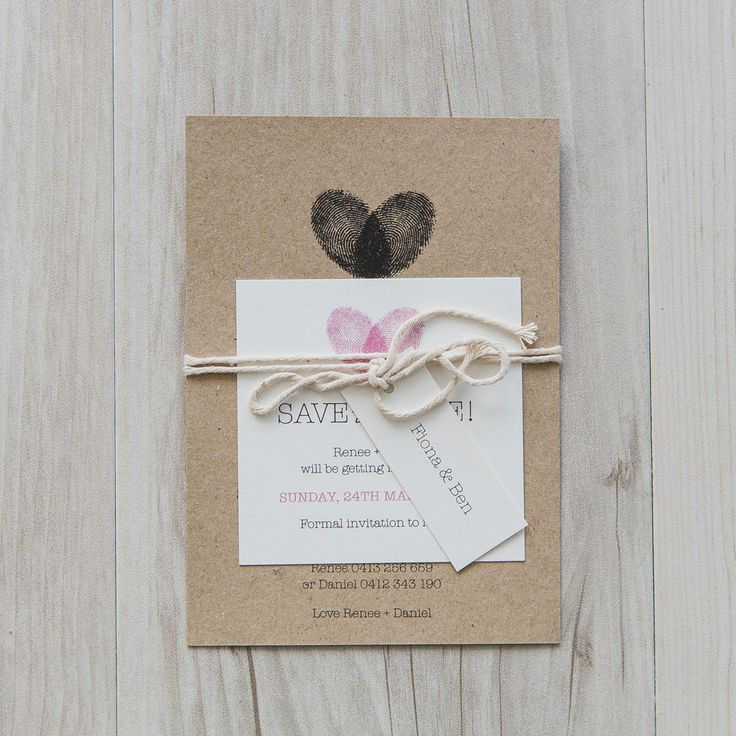Rustic Chic – Pinnacle Stationery