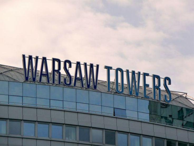 Budynek Warsaw Towers przy ul. Siennej