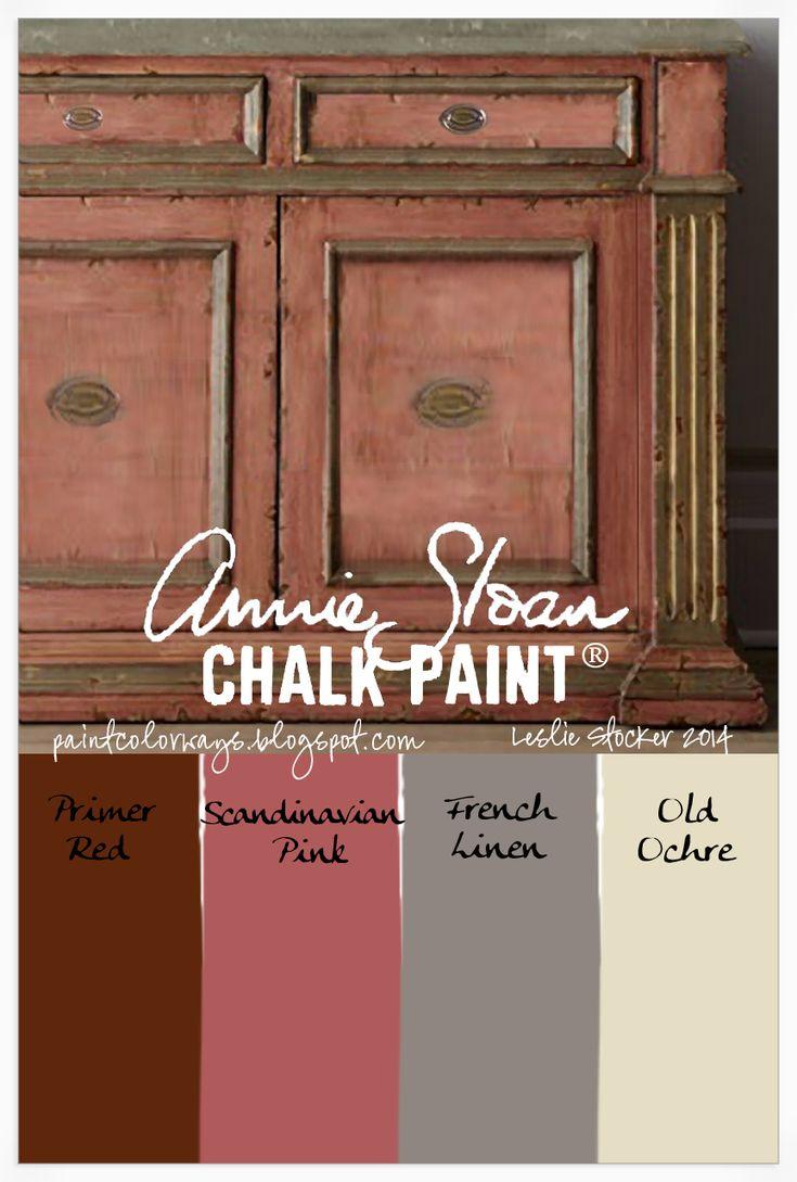 426 best Chalk Paint Palette images on Pinterest Colors Annie