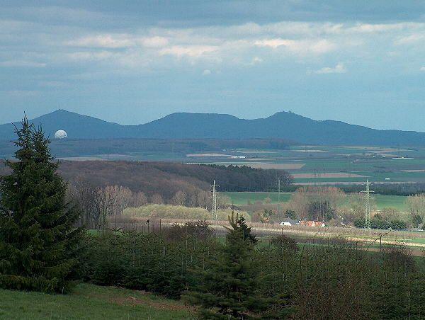 Blick auf das Siebengebirge von der Kalenborner Höhe