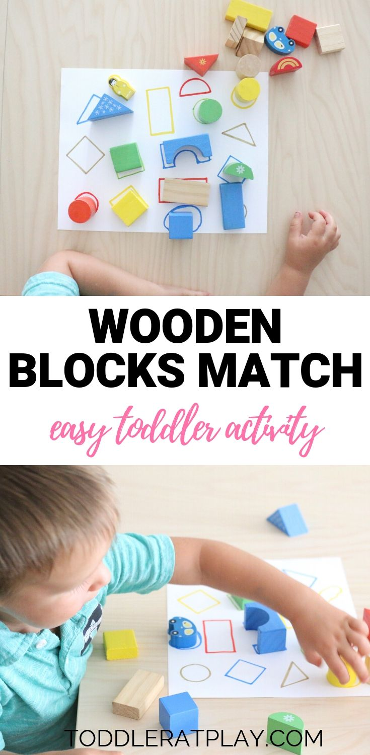 Wooden Blocks Match
