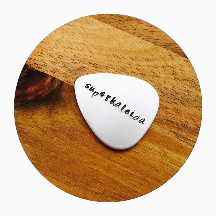 Guitar Pick | Custom Guitar Pick | Gift for him | Personal Gift | Musician Gift by KellectiveDesigns on Etsy https://www.etsy.com/listing/234292985/guitar-pick-custom-guitar-pick-gift-for