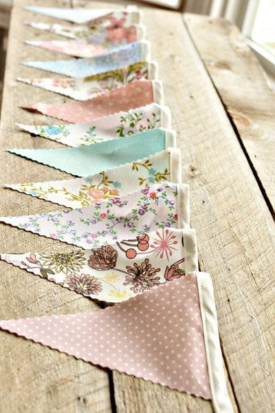 perfect for a vintage garden party do fabrics to match my dress, the bridesmaids and groomsmen.