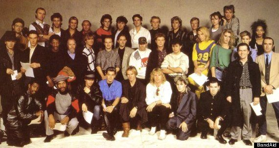 Mark Ellen Remembers The Tension At Original Band Aid Recording In 1984, And Who Finally Broke The Ice