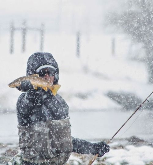 Winter Fishing...is invigorating.
