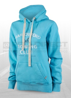 dounlimited Ladies Classic Comfort Hoody - Light Blue - Womens Clothing