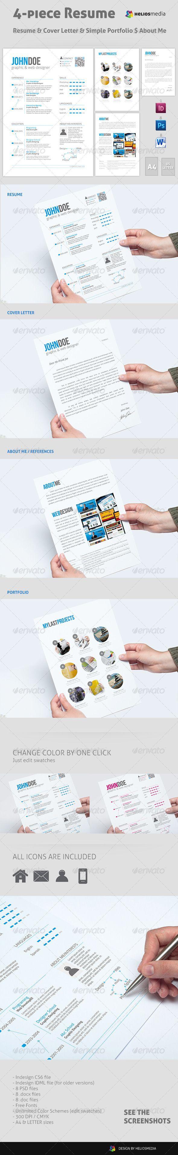 718 best D E S I G N :: Resume & Planner images on Pinterest ...