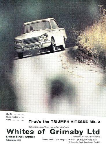 Triumph Vitesse Mk2 ad 1969