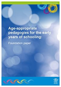 Age-appropriate pedagogies - Using effective pedagogies in the early years of schooling is important in supporting children to be actively engaged, creative and successful learners.  The department has funded Griffith University to conduct a pilot project supporting Queensland schools to use evidence-based approaches to teaching and learning in the early years. 46 Queensland schools volunteered to participate in the project.