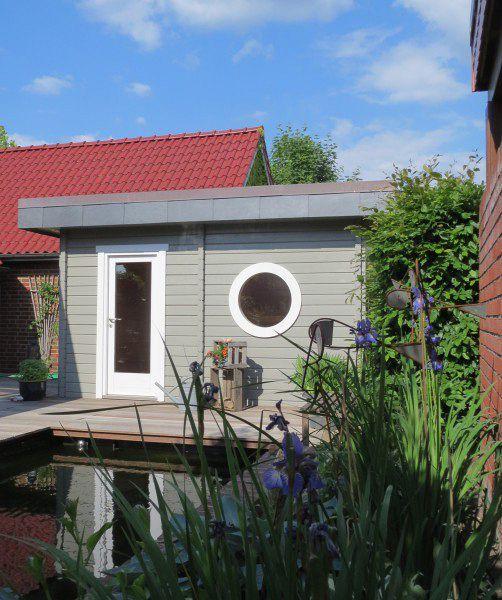 Nice Sauna im Garten Wohlf hlfaktor Stufe