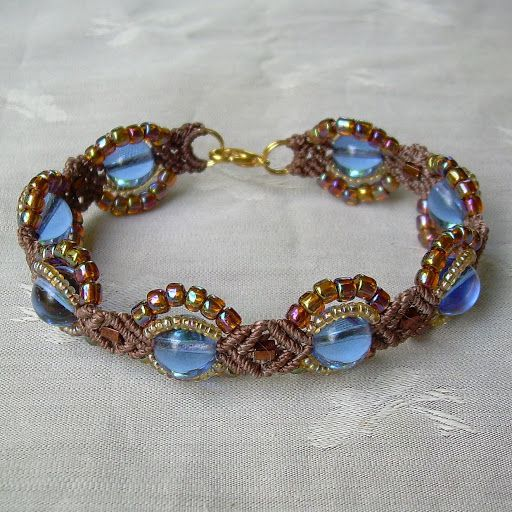 Designs Showcase Original Designs In Beaded Micro Macrame Jewelry