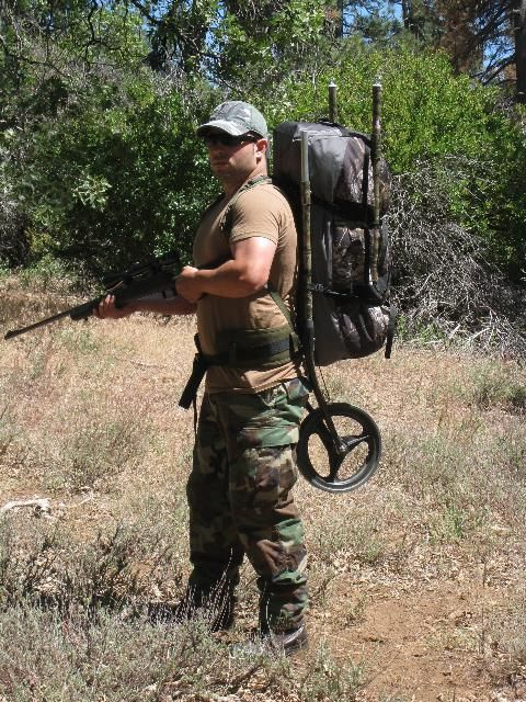 The Dixon Rollerpack is ideal when carrying heavier loads for hunting ... Bike Trailer Cargo Bug Out Hunting Backpack