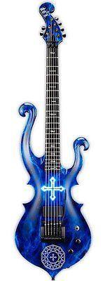 Pas cher Jeune fille X lazuli   Cross Ray   Moi dix Mois MANA Signature modèle (   ), Acheter  Guitare de qualité directement des fournisseurs de Chine:Toutes les guitares sont faite sur commande selon la demande des clients, il prendra 38-43 jours pour terminer la comman