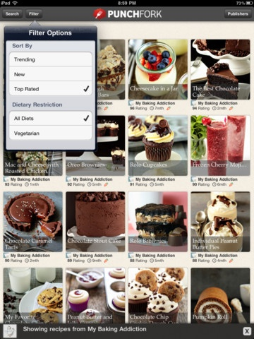 9 best recipe apps images on pinterest app store app and apps punchfork is quickly becoming one of my favorite apps for finding recipes punchfork is forumfinder Images