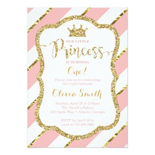 Best Princess Birthday Party Invitations Images On Pinterest - Birthday invitation princess