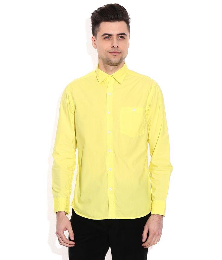 John Players Yellow Casuals Shirt, http://www.snapdeal.com/product/john-players-yellow-casuals-shirt/648078487833