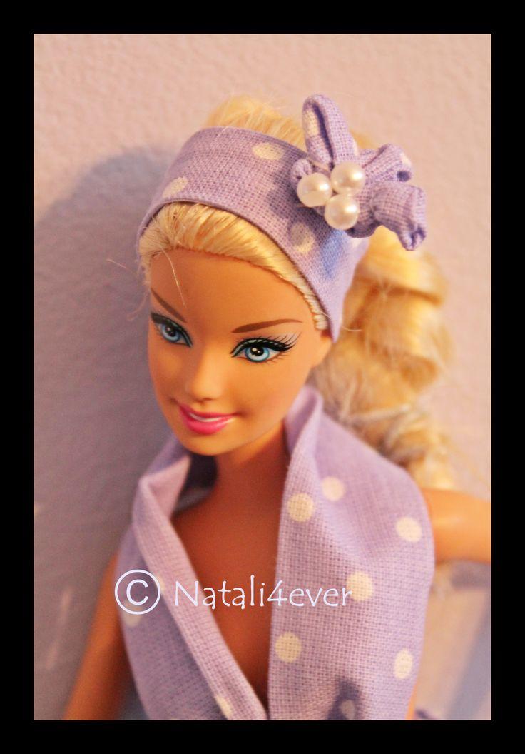 Polka dot Barbie dress, my project