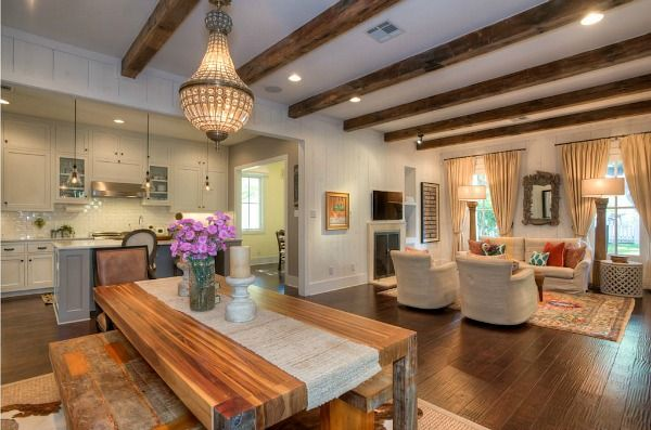 Best Modern Farmhouse For Sale In Austin Great Room Layout 400 x 300