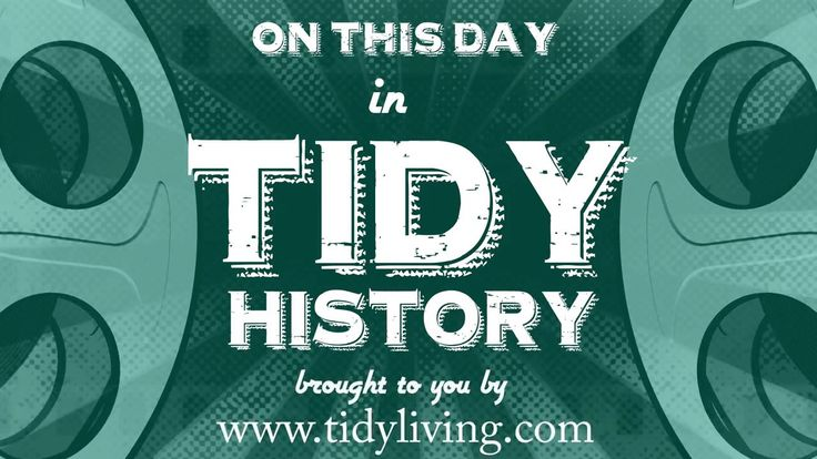 Tidy History: Billy Helps Wash the Car | TidyLiving.com   A classic moment in Tidy History!