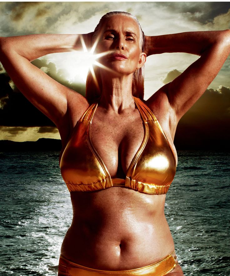 Sports Illustrated Swimsuit Issue Oldest Model | Nicola Griffin, 56, stars in Swimsuitsforall's latest campaign, and is thus the oldest model to ever appear in Sports Illustrated's Swimsuit Issue. #refinery29 http://www.refinery29.com/2016/02/102973/sports-illustrated-swimsuit-issue-nicola-griffin