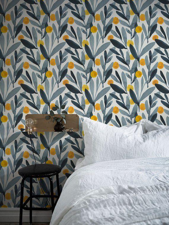 Removable Wallpaper, Scandinavian Wallpaper, Temporary
