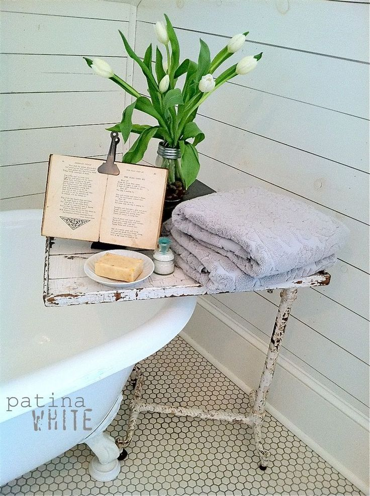 I need a table like this for my tub!
