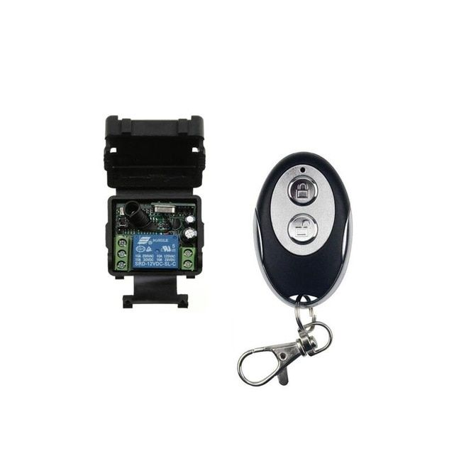 New Universal Rf Dc 12 V 1channel 10a Relay Mini Wireless Remote Control Switch 315mhz 433mhz Lighting Review Remote Control Remote Remote Controls