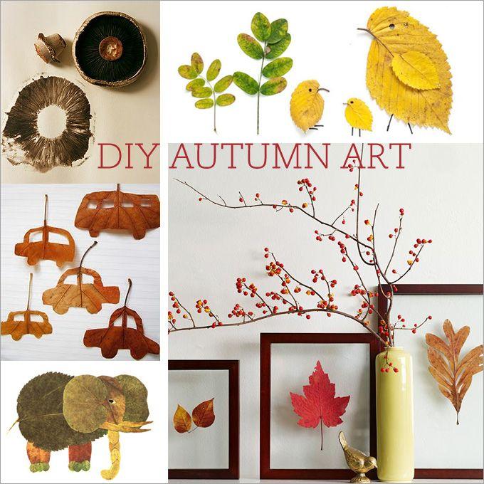 fall-ideas  DIY Autumn Art