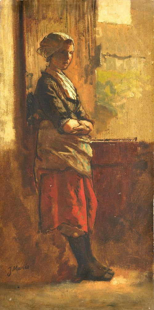 Girl at the Window - Jacob Maris