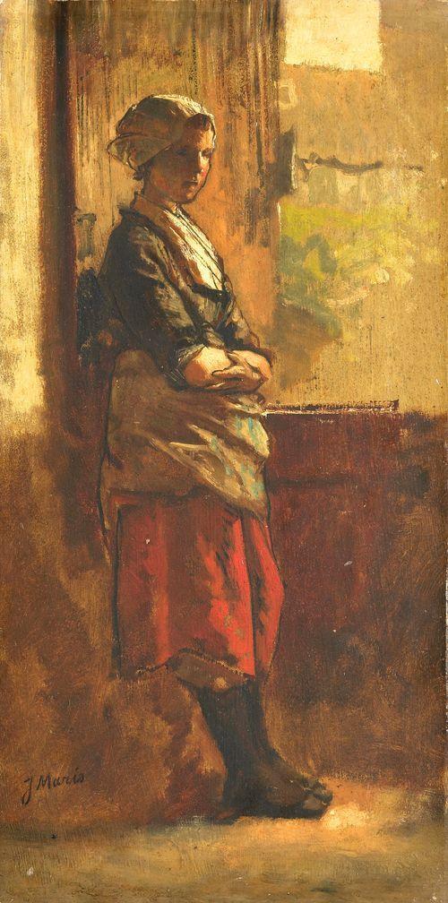 Girl at the Window - Jacob Maris